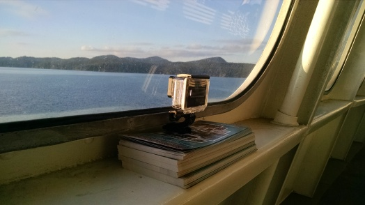 GoPro on WA State Ferry