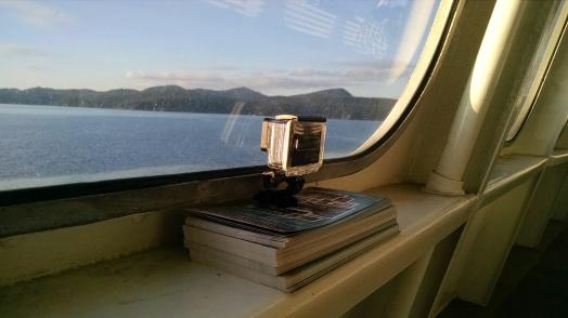 GoPro on WA State Ferry